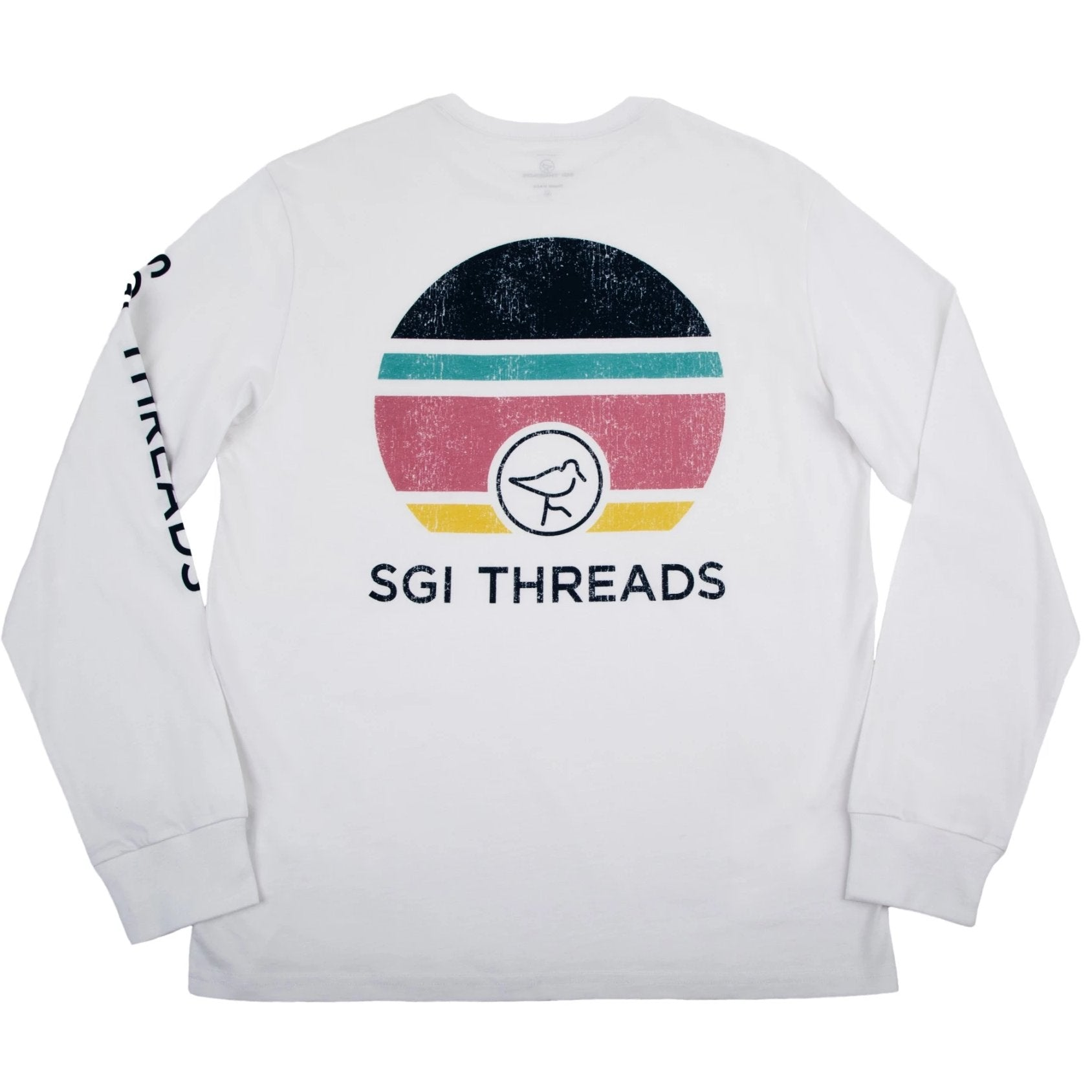 SUNSET LONG-SLEEVE TEE WHITE