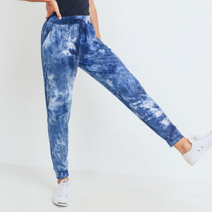 CALLIE'S TIE DYE BEACH WAVES JOGGERS