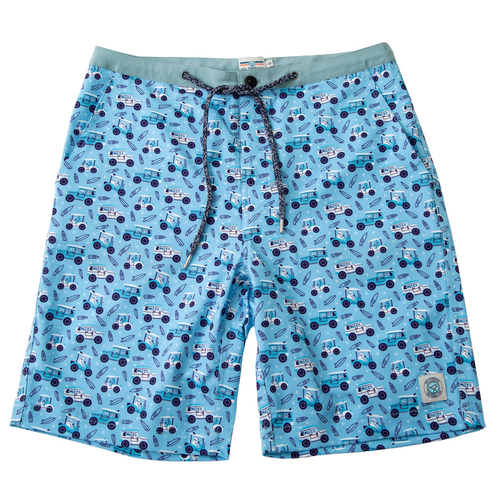 NEVER-BORED BOARDSHORTS DOG CARTS