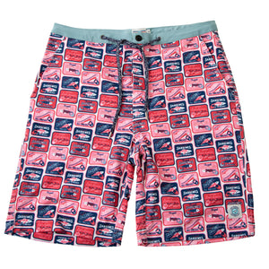 NEVER-BORED BOARDSHORTS SARDINES