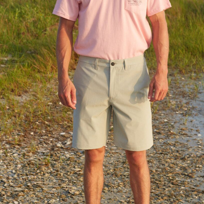 EVERYWHERE SAND TECH SHORTS COOL GREY