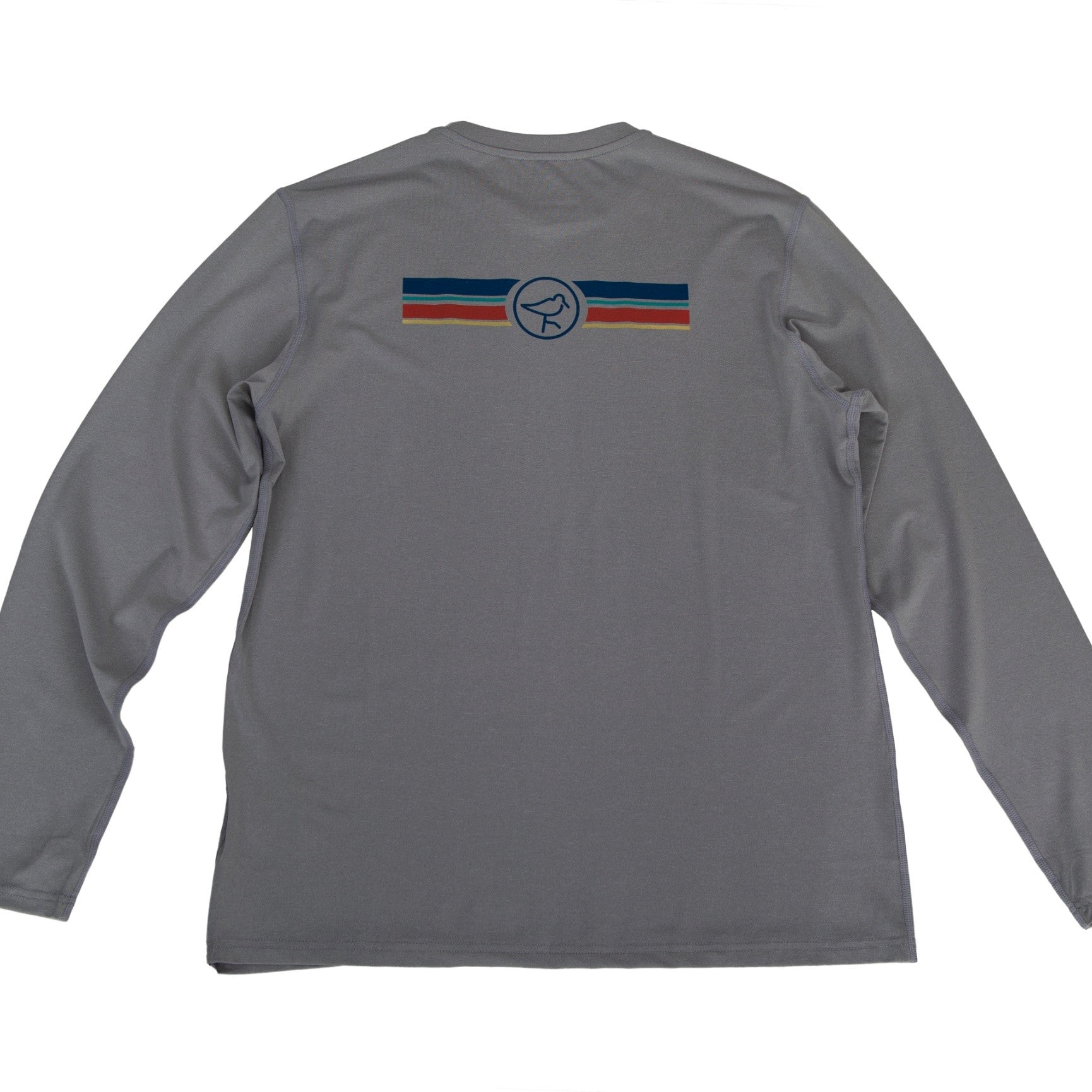 EVERYWHERE SAND TECH LONG-SLEEVE TEE GREY