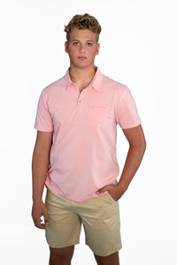 THE BEST-EVER POLO SOLID PINK