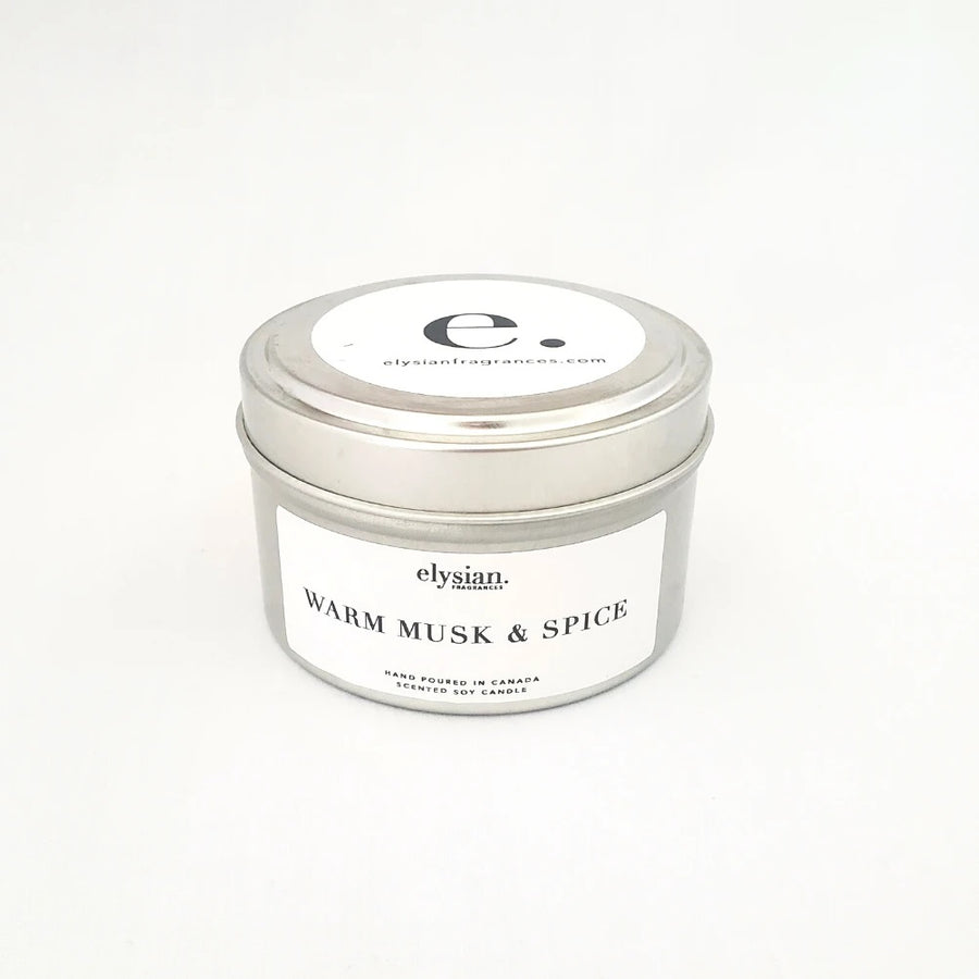 Warm Musk & Spice | Luxury Natural Candle
