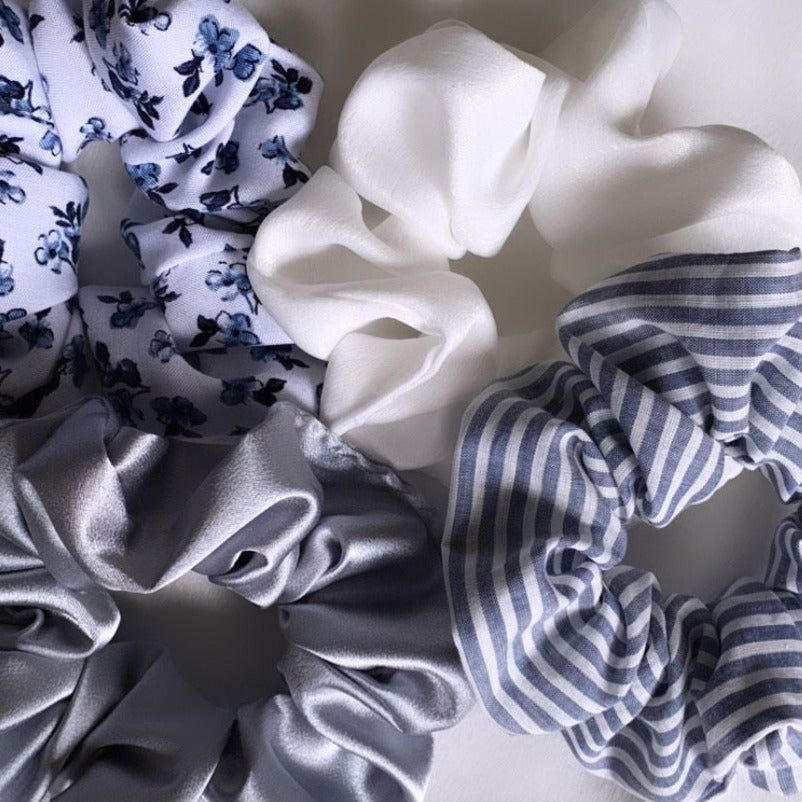 Muskoka Blues Scrunchie Set