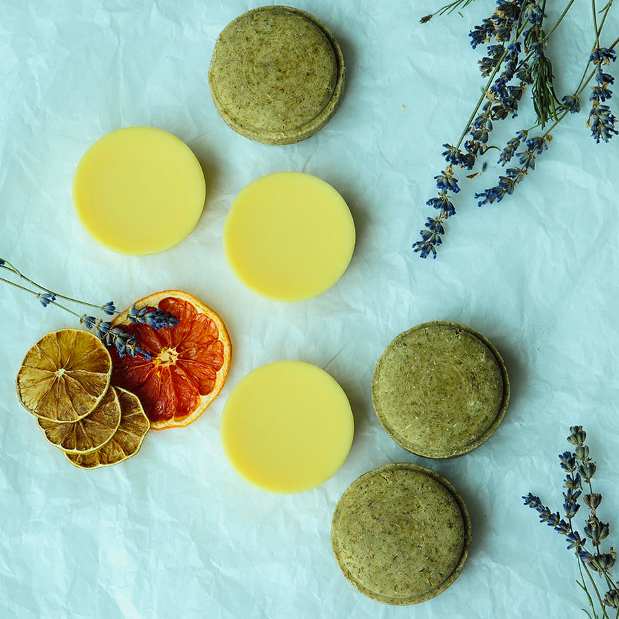 Lavender and Chamomile Shampoo Bar
