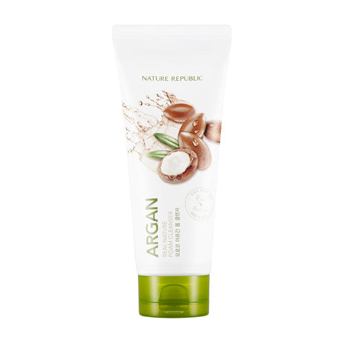 [Nature Republic] Real Nature Foam Cleanser - Argan