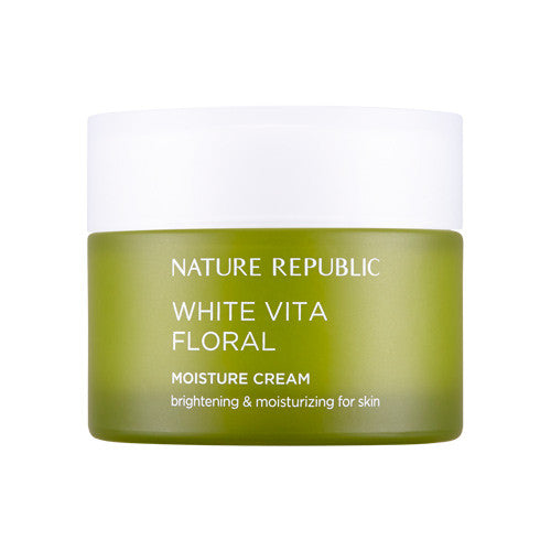 NATURE REPUBLIC White Vita Floral Moisture Cream