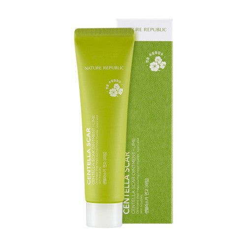[Nature Republic] Centella Scar Oinment - Lime