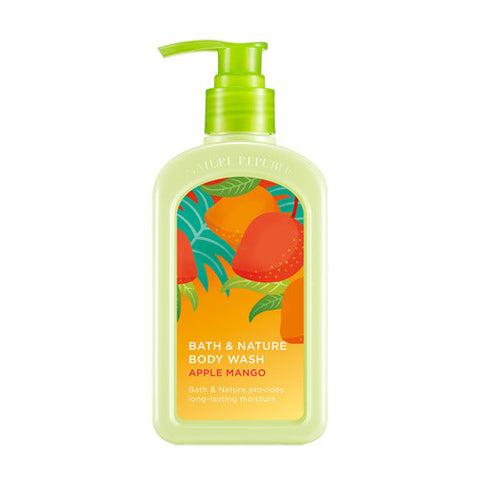 NATURE REPUBLIC Bath & Nature Body Wash - Apple Mango