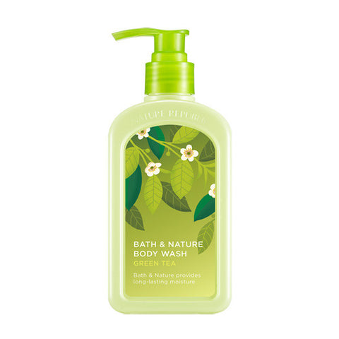 NATURE REPUBLIC Bath & Nature Body Wash - Green Tea