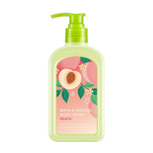NATURE REPUBLIC Bath & Nature Body Wash - Peach