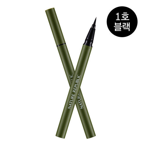 NATURE REPUBLIC Botanical Hyper Liner 01 Black