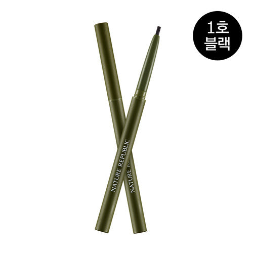 NATURE REPUBLIC Botanical Skinny Auto Eyeliner 01 Black