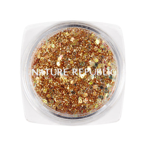 [NATURE REPUBLIC] Color & Nature Real Glitter #1 Gold