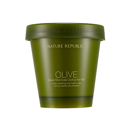 [Nature Republic] Natural Olive Scalp Cooling Hair Pack