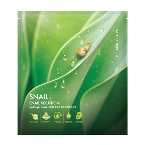 NATURE REPUBLIC Snail Solution Hydrogel Mask