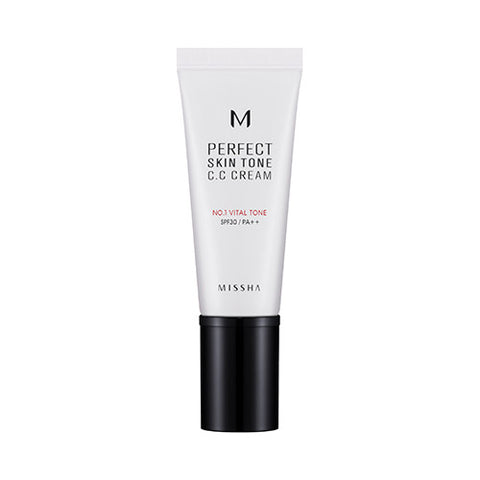 [MISSHA] [M] Perfect Skin Tone CC Cream SPF30 PA++ [#1 Bright Tone]