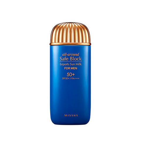 [MISSHA] All Around Safe Block Leports Sun Milk For Men SPF50+/PA++++