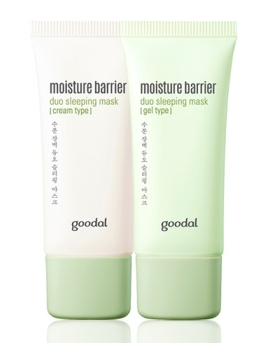 [GOODAL] Mioisture Barrier Duo Sleeping Mask [Cream Type / Gel Type]