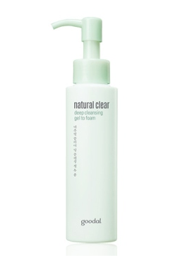[GOODAL] Natural Clear Deep Cleansing Gel to Foam