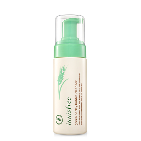 [Innisfree] Green Barley Bubble Cleanser