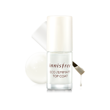 [Innisfree] Eco Semimatt Top Coat