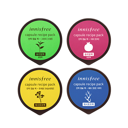 [Innisfree] Capsule Recipe Pack