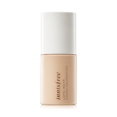 [innisfree] Long Wear Cover Foundation / Spf20 Pa++