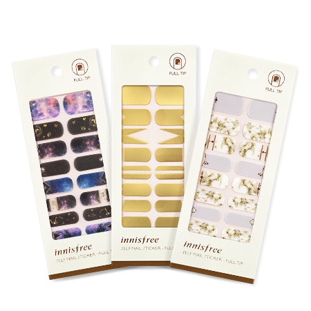 [INNISFREE] SELF NAIL STICKER - FULL TIP