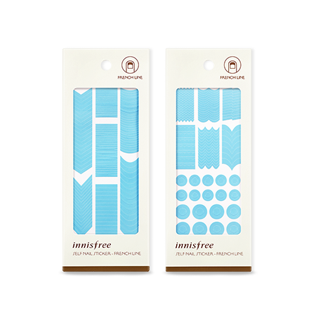 [Innisfree] SELF NAIL STICKER - FRENCH LINE