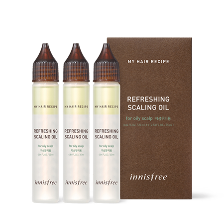 [Innisfree] My Hair Recipe Refreshing Scaling Oil