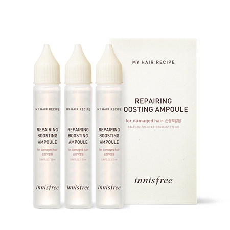 [Innisfree] My Hair Recipe Repairing Boosting Ampoule