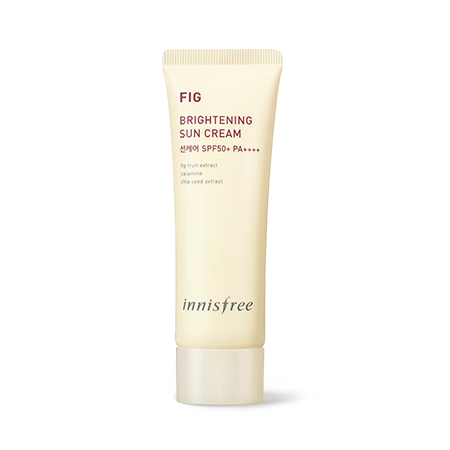 [Innisfree] fig brightening sun cream