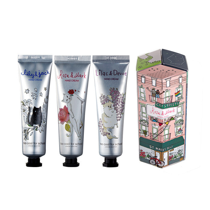 [too cool for school] CAT STREETS HANDCREAM SET