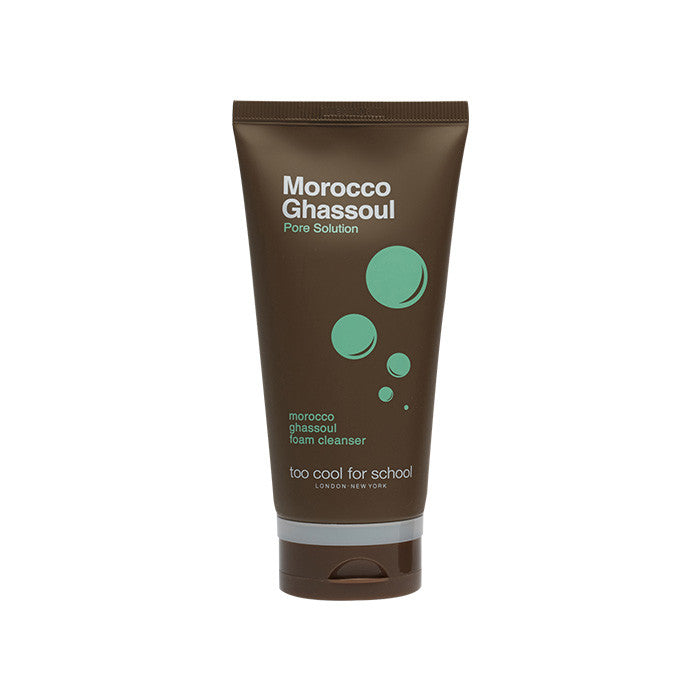[too cool for school] MOROCCO GHASSOUL FOAM CLEANSER