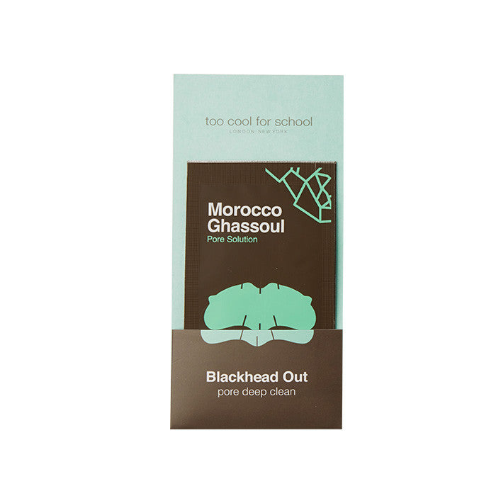 [too cool for school] MOROCCO GHASSOUL BLACKHEAD OUT SET