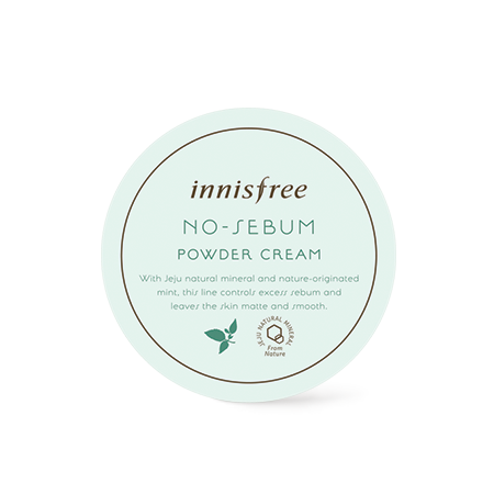 [Innisfree] no-sebum powder cream