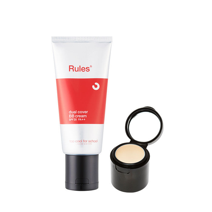 [too cool for school] RULES DUAL COVER BB CREAM SPF30 PA++