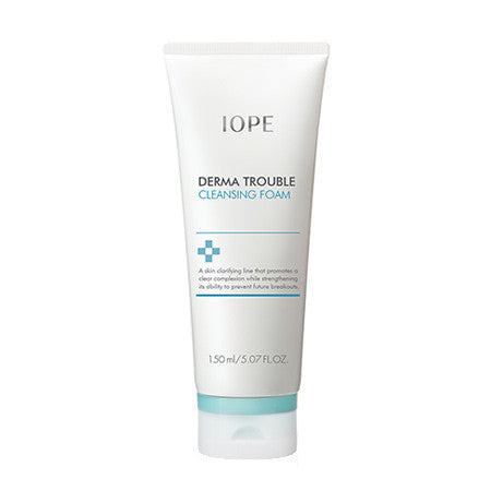 [IOPE] DERMA TROUBLE CLEANSING FOAM