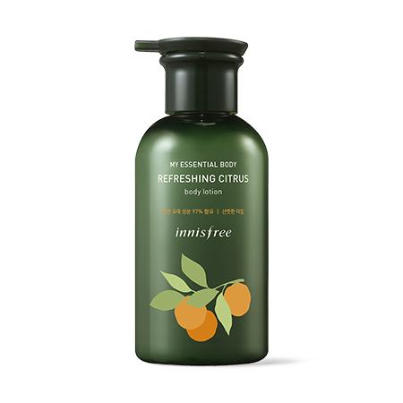 [Innisfree] My Essential Body Refreshing Citrus Body Lotion