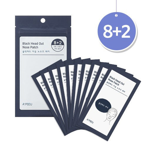 [APIEU] Blackhead Out Nose Patch Set