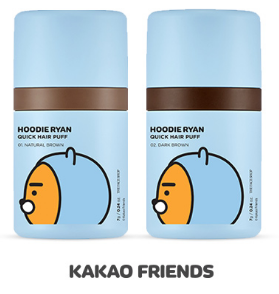 [THE FACE SHOP] Hoodie Ryan Quick Hair Puff (Kakao Friends)