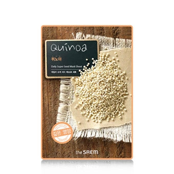 [the SAEM] Daily Super Seed Sheet Mask - Quinoa