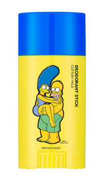 [THE FACE SHOP] Deodorant Stick Cotton - Mild (The Simpsons)