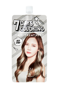 [MISSHA] 7days Coloring Hair Treatment [Ash Grey] - Lena Special Edition