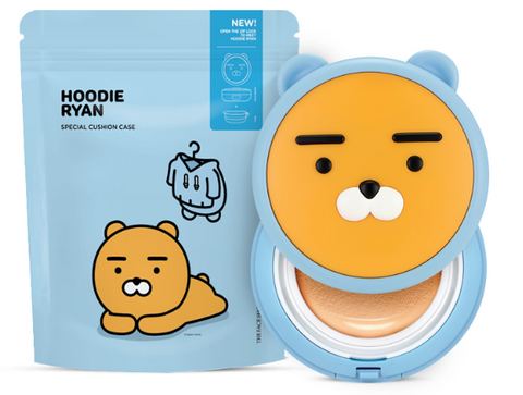 [THE FACE SHOP] Hoodie Ryan Cushion Case (Only Case) (Kakao Friends)