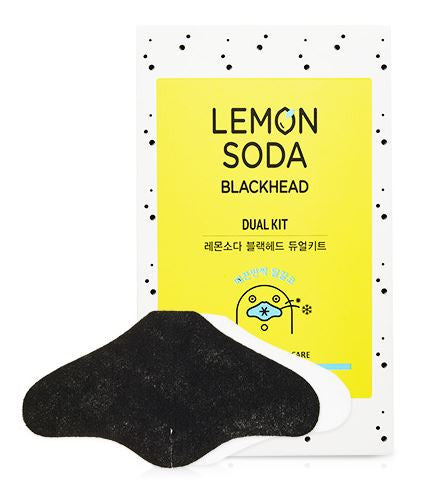 [ETUDE HOUSE] Lemon Soda Black Head dual kit