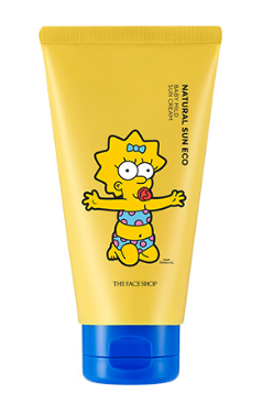 [THE FACE SHOP] Natural Sun Eco Baby Mild Sun SPF30/PA++ (The Simpsons)