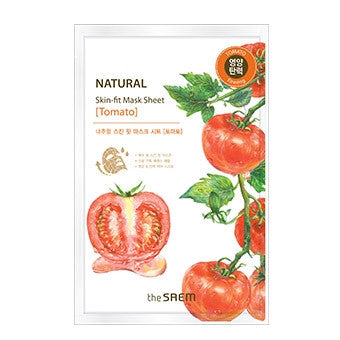[the SAEM] Natural Skin Fit Mask Sheet [Tomato]